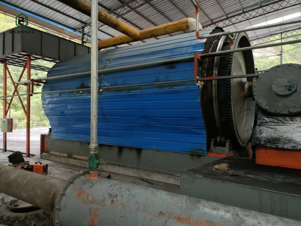 Why is continuous tire refining equipment good