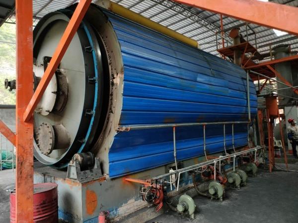 Buy waste oil distillation equipment, shop around and then visit kebos