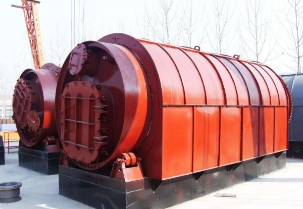 waste oil sludge treatment plant
