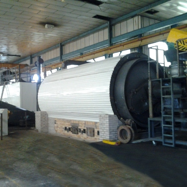 Batch type waste plastic to fuel oil pyrolysis machine for sale