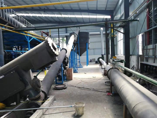 The High Oil Yield Continuous Waste Oil Sludge Pyrolysis Plant